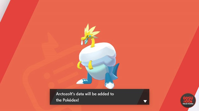 Pokemon Sword & Shield Fossil Locations & Combinations