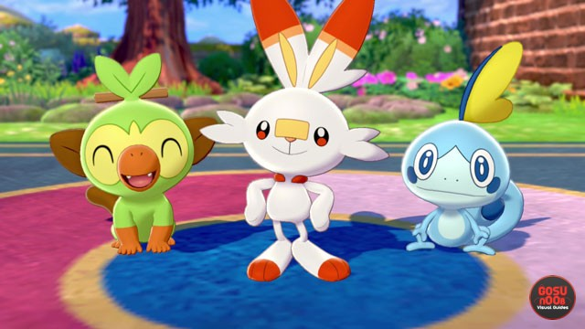 Pokemon Sword & Shield How to Get Male Female Starters