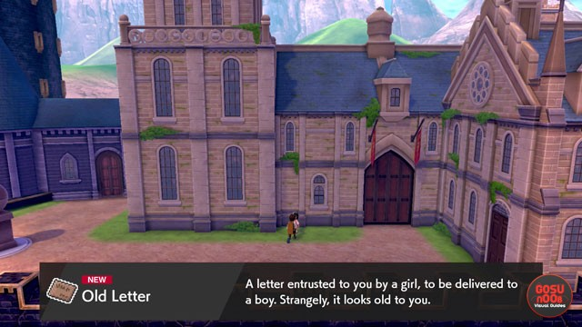 Pokemon Sword & Shield Old Love Letter Frank Location in Ballonlea