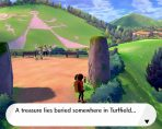 Pokemon Sword & Shield Treasure Map Riddle Solution Turffield Grass Stones