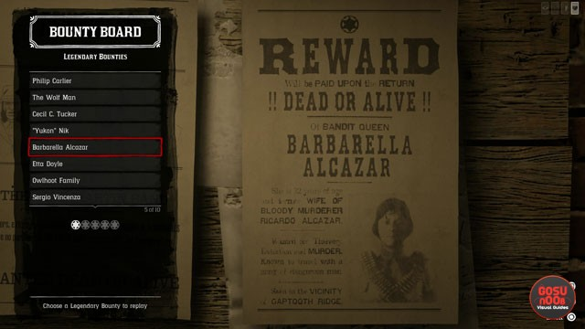 Red Dead Online All Legendary Bounties Now on Bounty Board