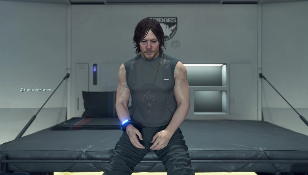 death stranding change hairstyle appearance