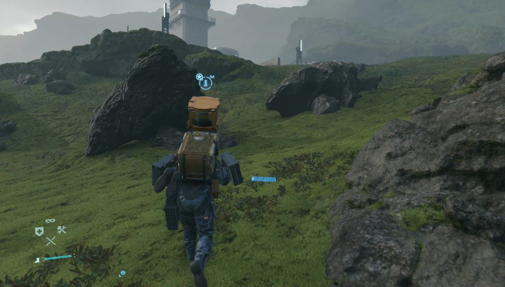 death stranding how to trade with porters