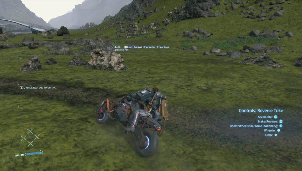 death stranding vehicles motorcycle reverse trike truck