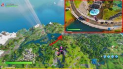 fortnite where to find e dive loading screen