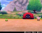 pokemon sword shield camp