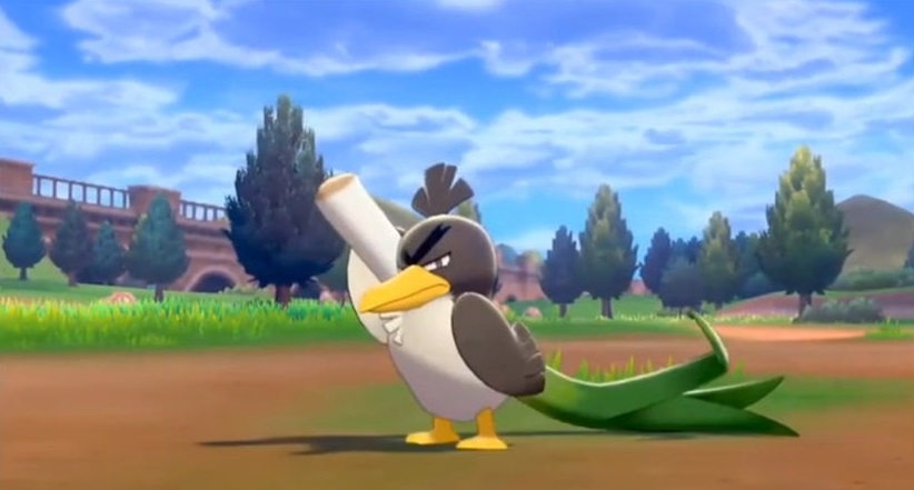 pokemon sword shield farfetch'd location evolution sirfetch'd