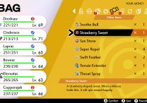 pokemon sword shield sweets locations strawberry berry love star clover flower ribbon