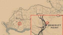 rdr2 elemental trail wawter tower location