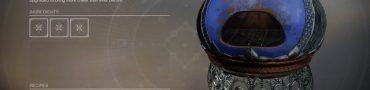 Destiny 2 Dawning Oven Recipes 2019