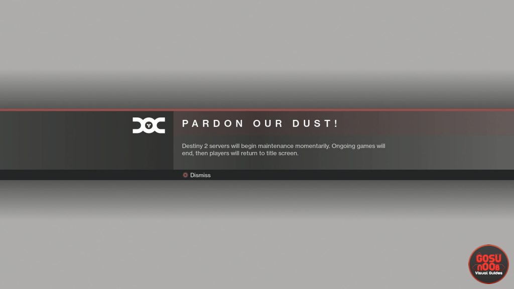 Destiny 2 Maintenance & Reset Time December 10th 2019