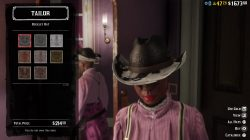 rdr2 buckley hat