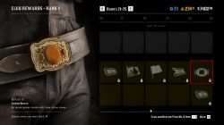 rdr2 citrine buckle