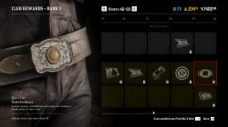 rdr2 tiger's eye buckle