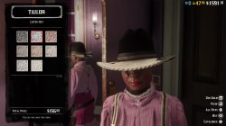 red dead online lister hat