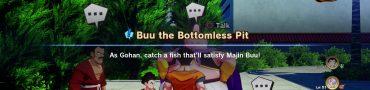 Big Fish Location in Dragon Ball Z Kakarot Majin Buu Quest