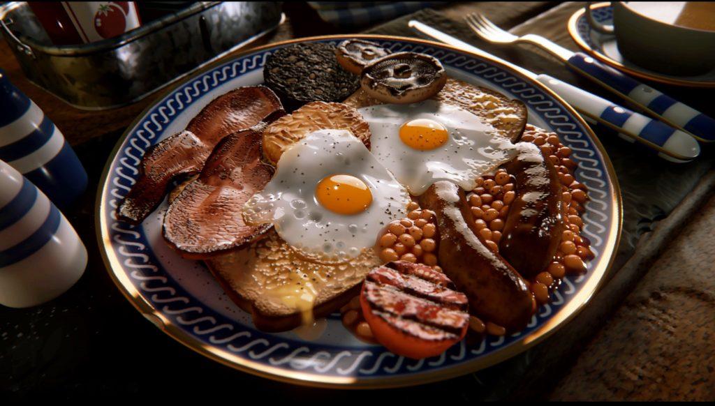 Dreams Full Beech Breakfast