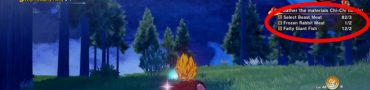 Frozen Rabbit Meat Location in Dragon Ball Z Kakarot