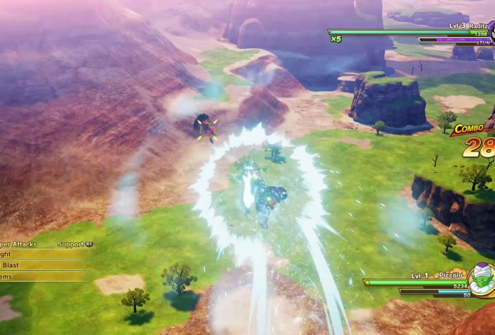 How to Do Follow-Up Attacks in Dragon Ball Z Kakarot