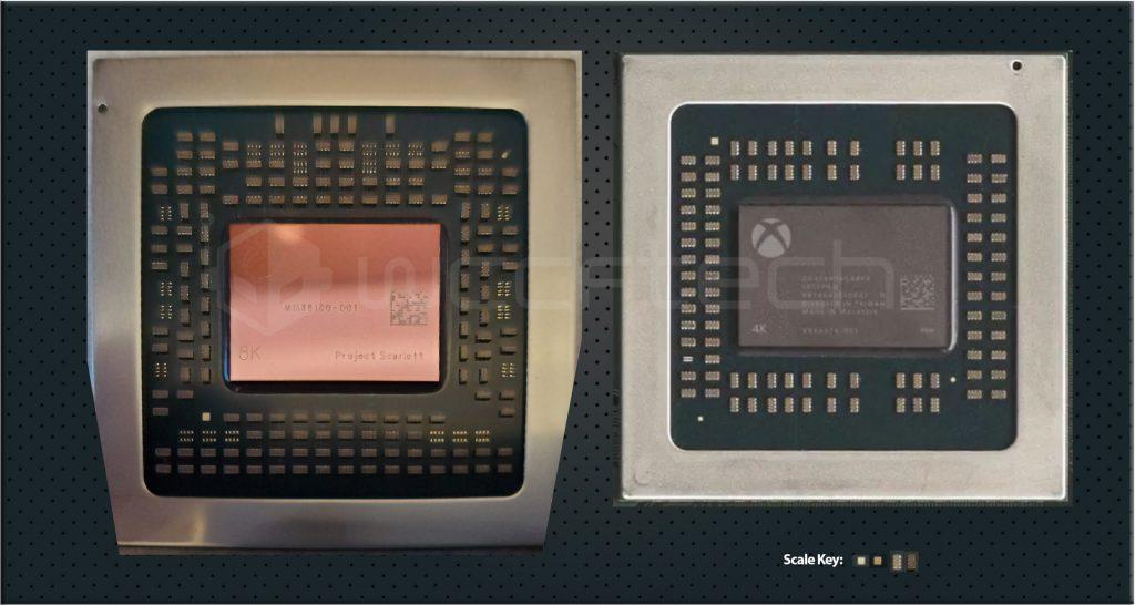Xbox Series X APU Chip Size