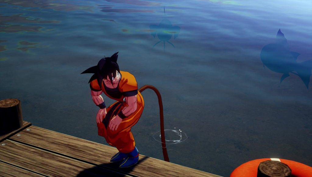 dbz kakarot fishing baits