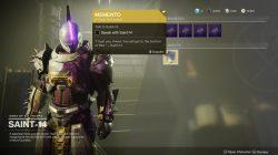 destiny 2 memento exotic quest