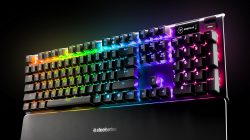 steelseries apex 5 gaming keyboard