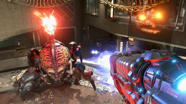 Doom Eternal Ten-Minute Gameplay Video is Everything Youd Expect
