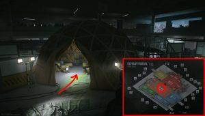 tarkov ledx transilluminator location labs map