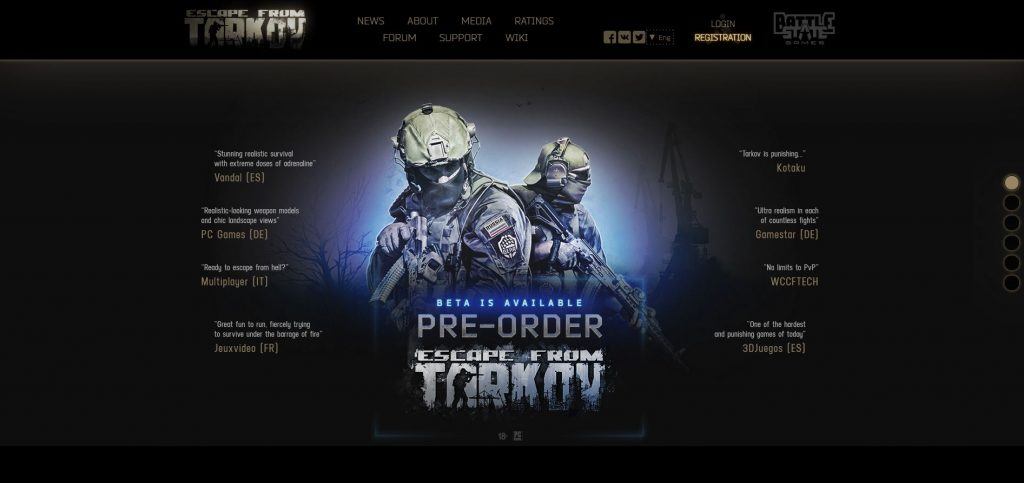 where to buy escape from tarkov is it on steam