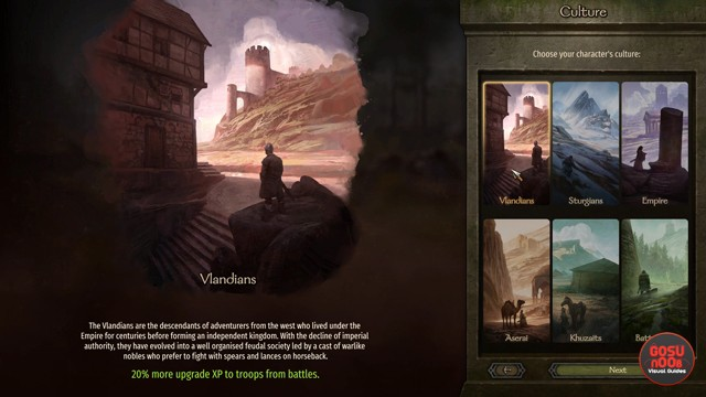 Best Faction Character Culture in Mount & Blade 2 Bannerlord
