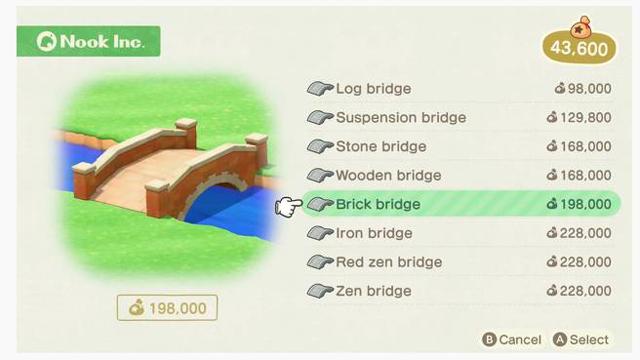 Build Bridges & Inclines in Animal Crossing New Horizons