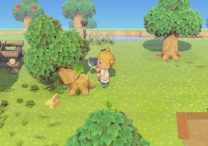 Chop Down Tree in Animal Crossing New Horizons