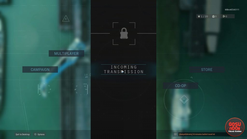 CoD Warzone Incoming Transmission Cannot Trigger Update on PS4
