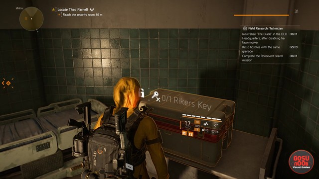Division 2 Rikers Chest Locations in Warlords of New York