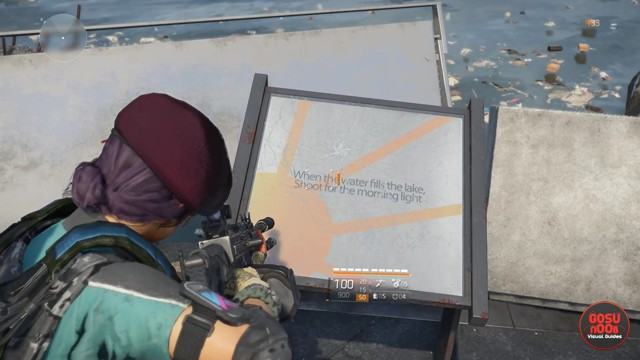 Division 2 Zelda Ocarina of Time Easter Egg Location Incendiary Rounds