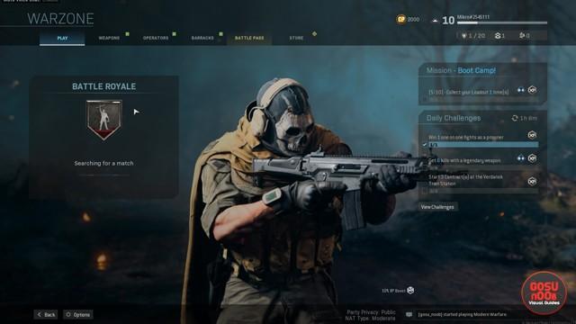 Download CoD Warzone without Modern Warfare