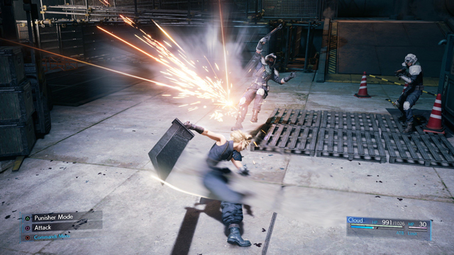 Final Fantasy VII Remake Demo Out Now on PlayStation Store
