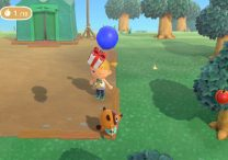 How to Catch Get Balloon with Present in Animal Crossing New Horizons