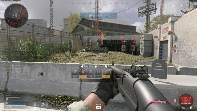 How to Drop Ammo Bug Stuck in Training CoD Warzone