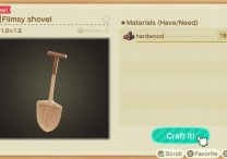 How to Get Shovel, Dig Up Trees & Get Nuggets in Animal Crossing New Horizons