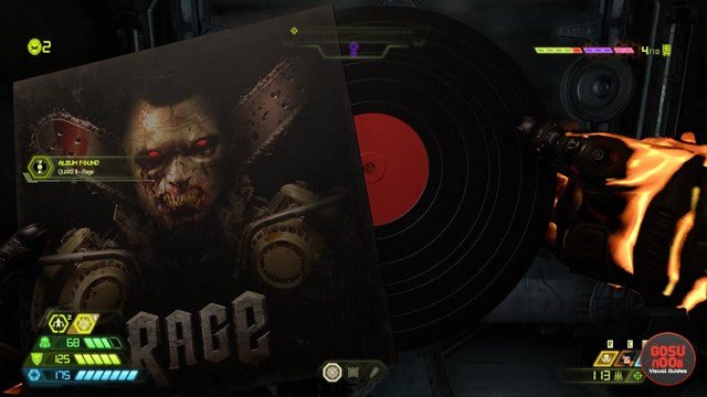 Mission 9: Taras Nabad Collectibles & Secrets Locations - Doom Eternal