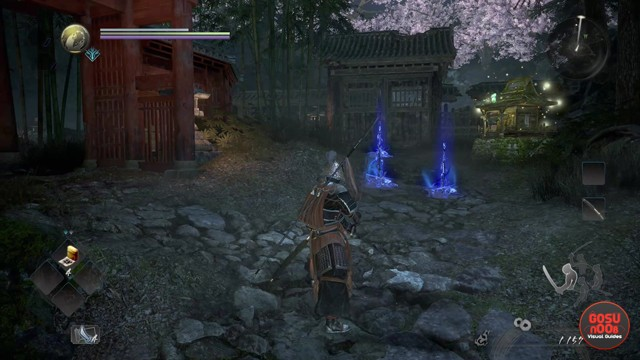 Nioh 2 Benevolent Graves How to Interact with Blue Graves Ochoko Cups