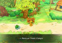 Rescue Team Camp Pokemon Recruit List in Pokemon Mystery Dungeon Rescue Team DX