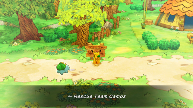 Rescue Team Camp Pokemon Recruit List in Pokemon Mystery Dungeon Rescue Team DX