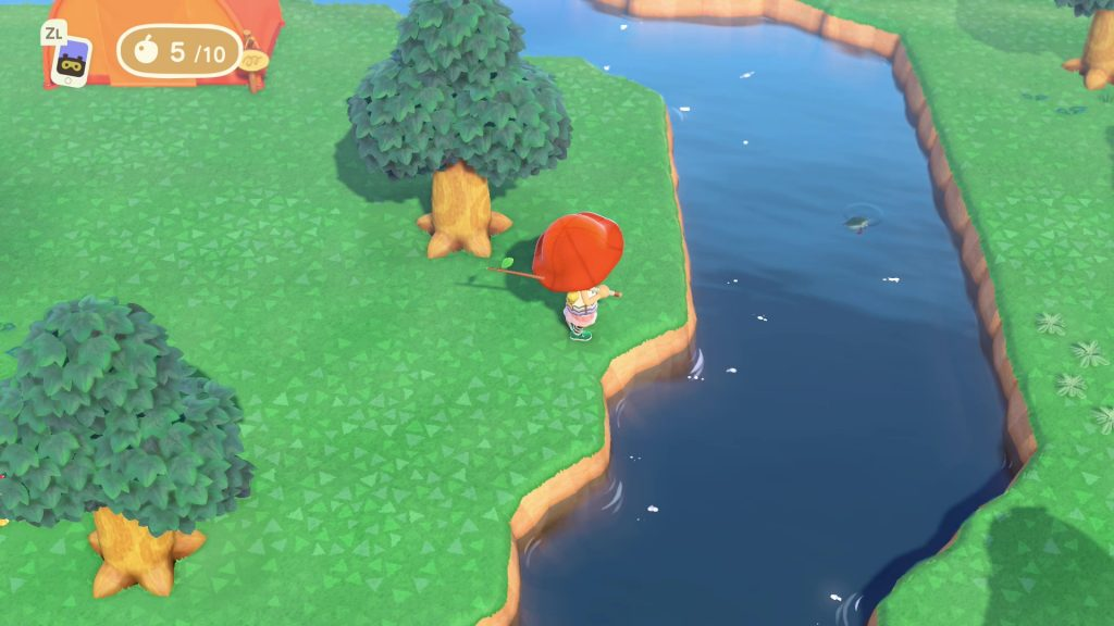can you swim dive in animal crossing new horizons