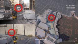 civic center shd tech cache where to find division 2