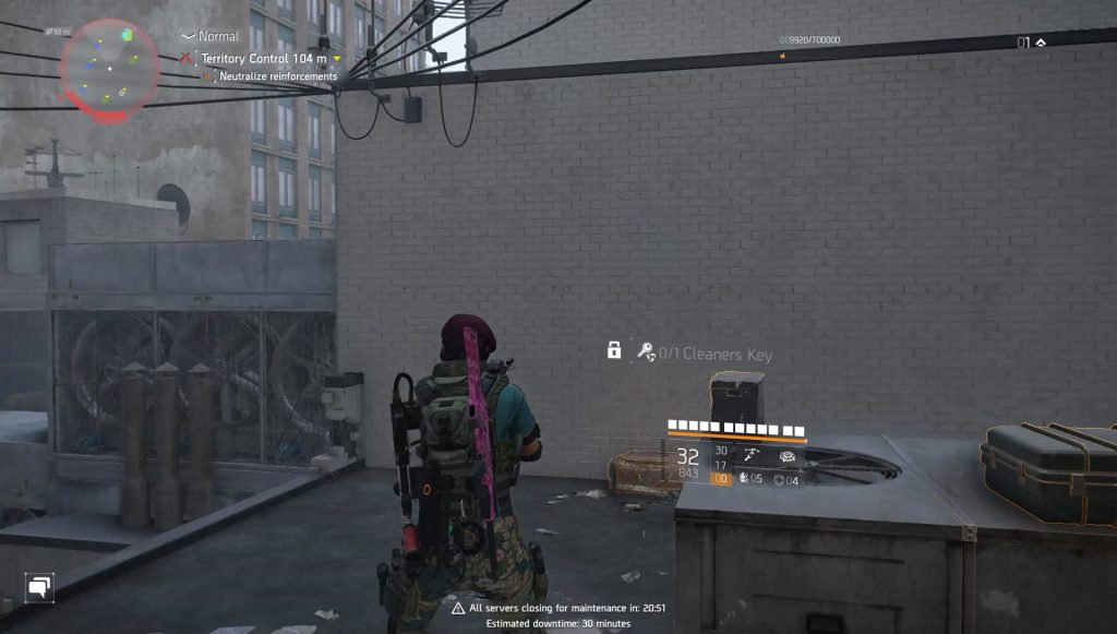 division 2 cleaners key chest locations