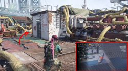 division 2 cleaners key location tanker deck