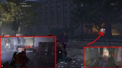 division 2 construction site hunter location